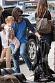 jennifer connelly paul bettany lax arrivial with the kids 12