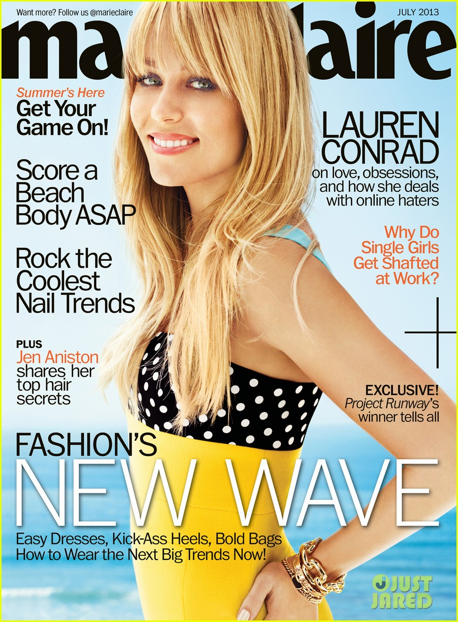 lauren conrad covers marie claire july 2013 012889083