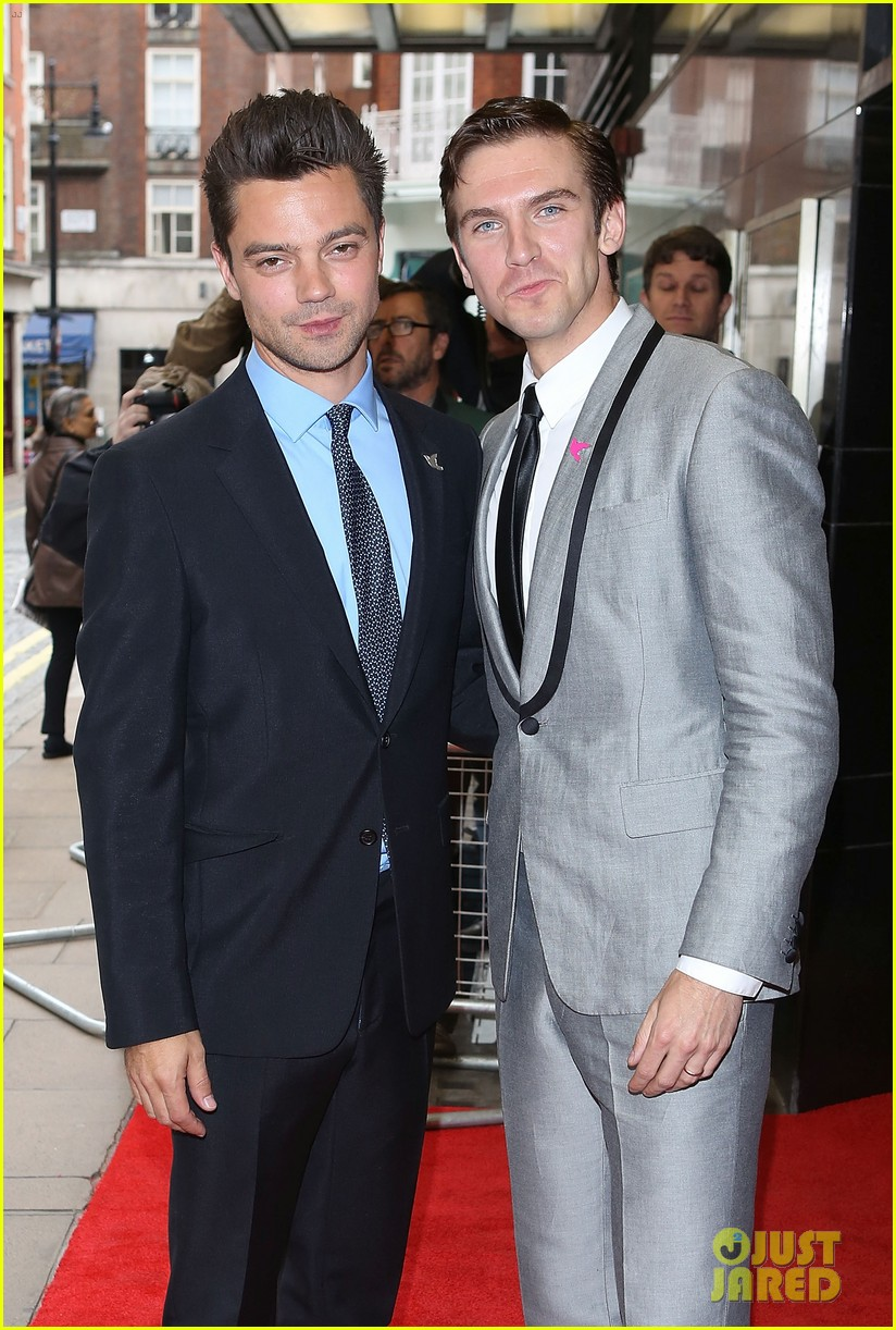 86b45e9ea67 Dominic Cooper   Dan Stevens   Summer in February  Gala!  Photo ...