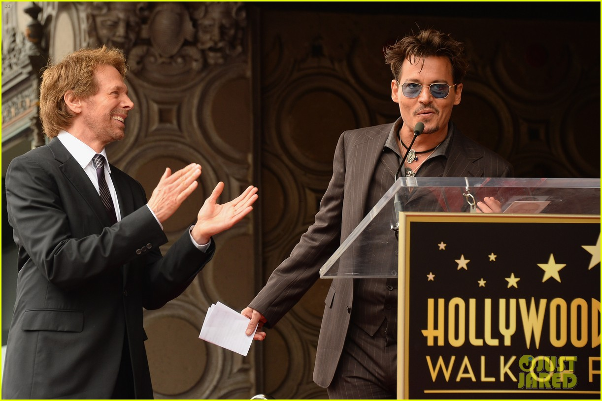 tom cruise johnny depp jerry bruckheimer star ceremony 122897712