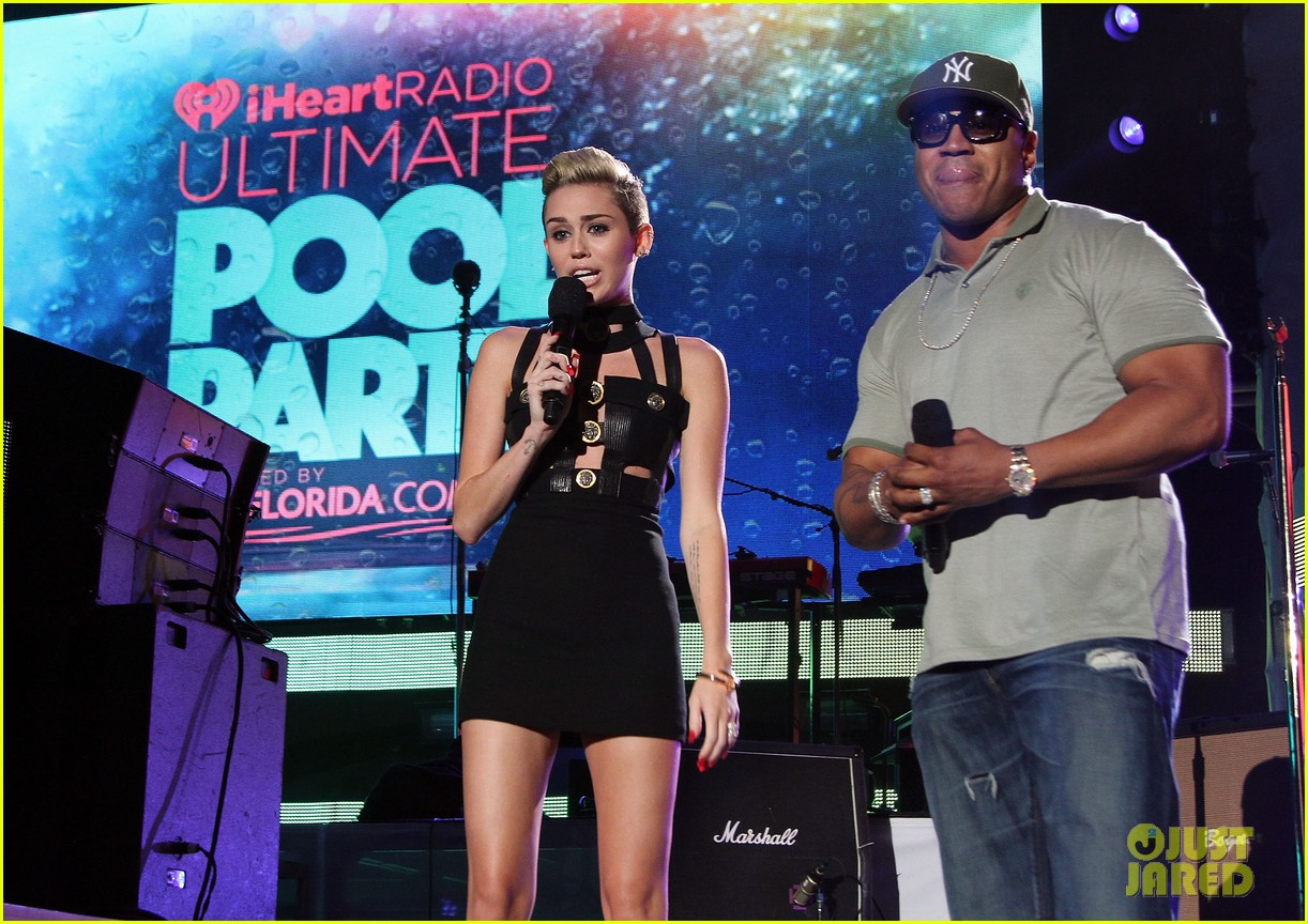 miley cyrus iheartradio ultimate pool party 242900809