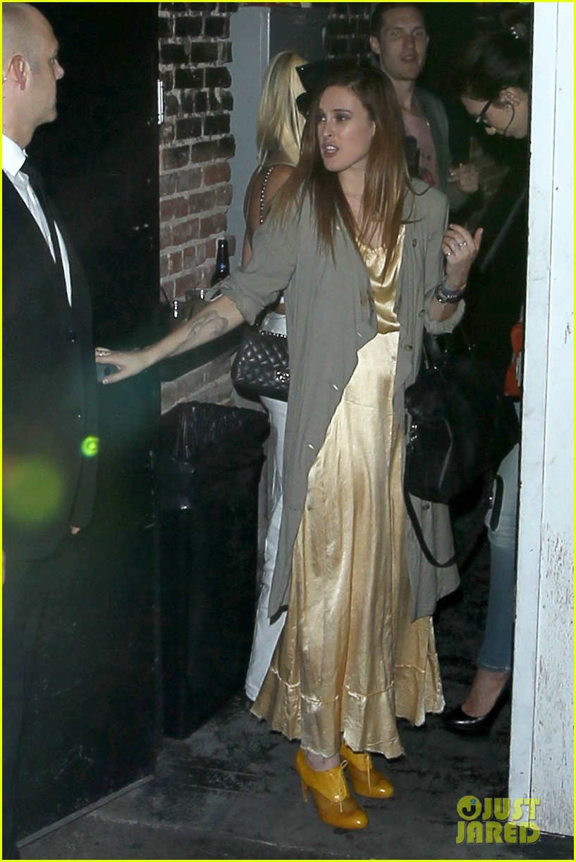 demi moore rumer willis sneak out of sayers club 012895785
