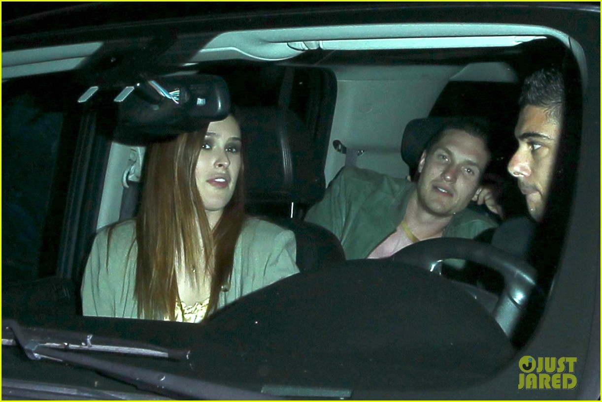 demi moore rumer willis sneak out of sayers club 022895786