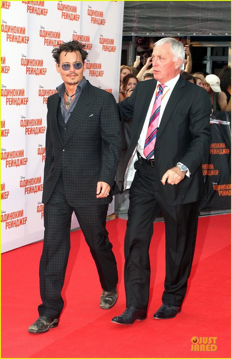 b6c6a46b99 Johnny Depp   Armie Hammer   Lone Ranger  Moscow Premiere!  Photo ...