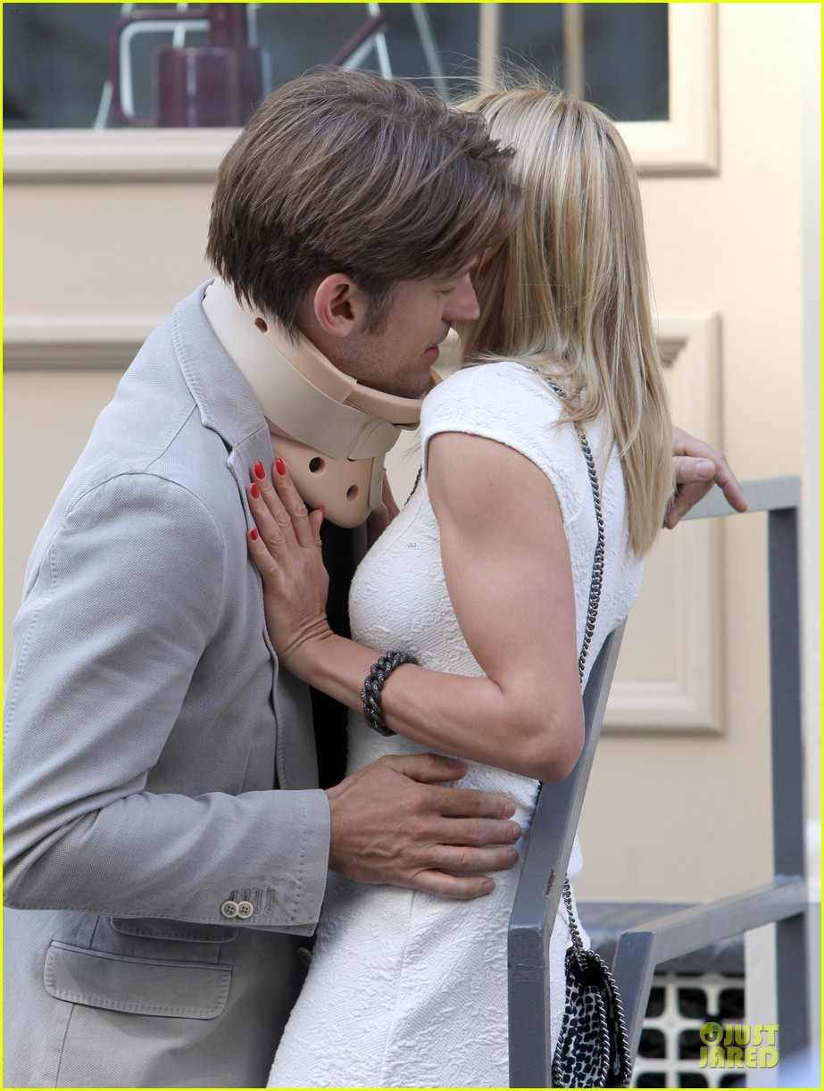 cameron diaz nikolaj coster waldau neck brace on other woman set 112895992