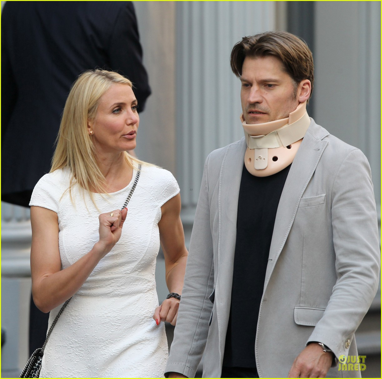 cameron diaz nikolaj coster waldau neck brace on other woman set 232896004