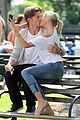 cameron diaz nikolaj coster waldau lock lips on set 01