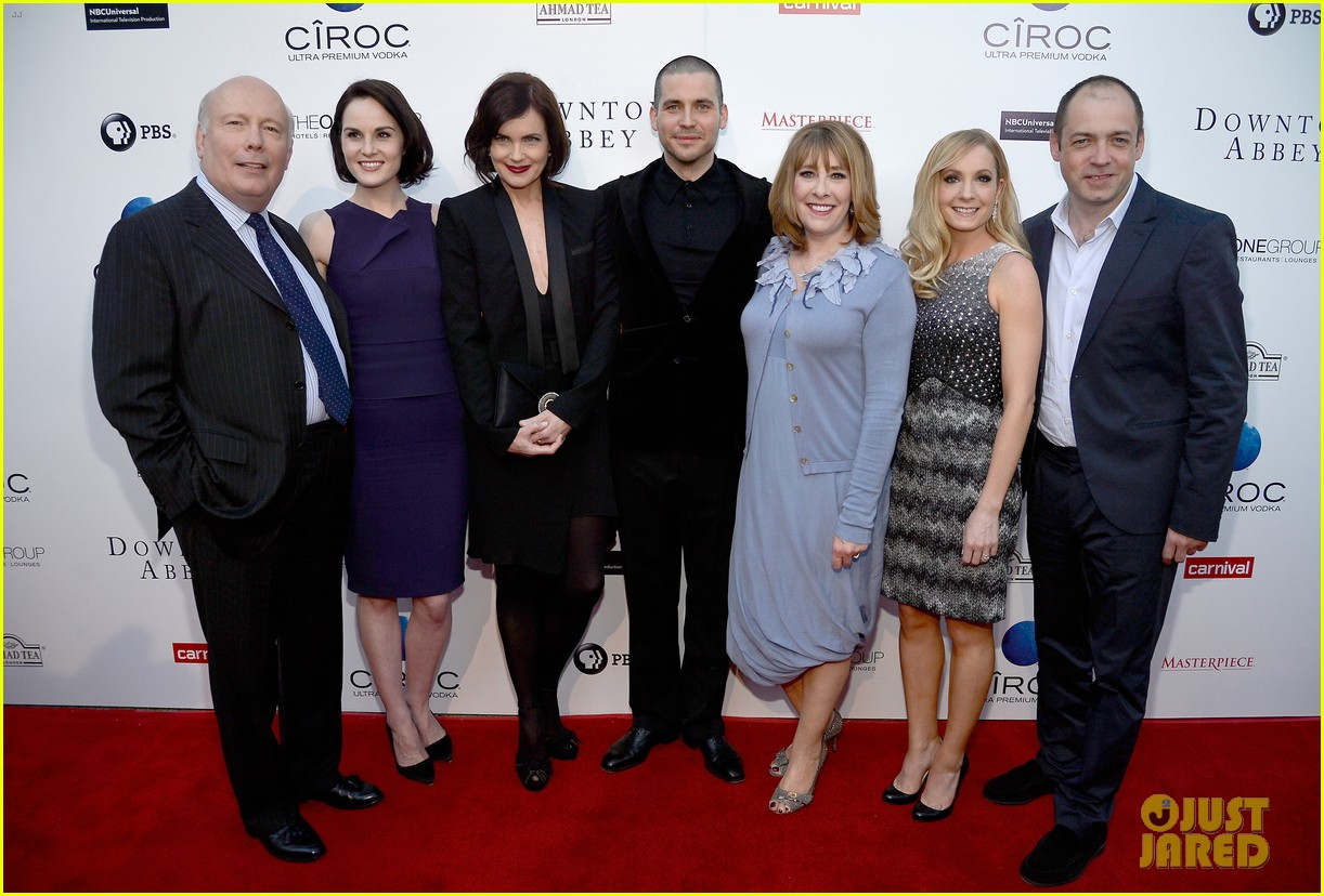 michelle dockery an evening with downton abbey cast 032888989