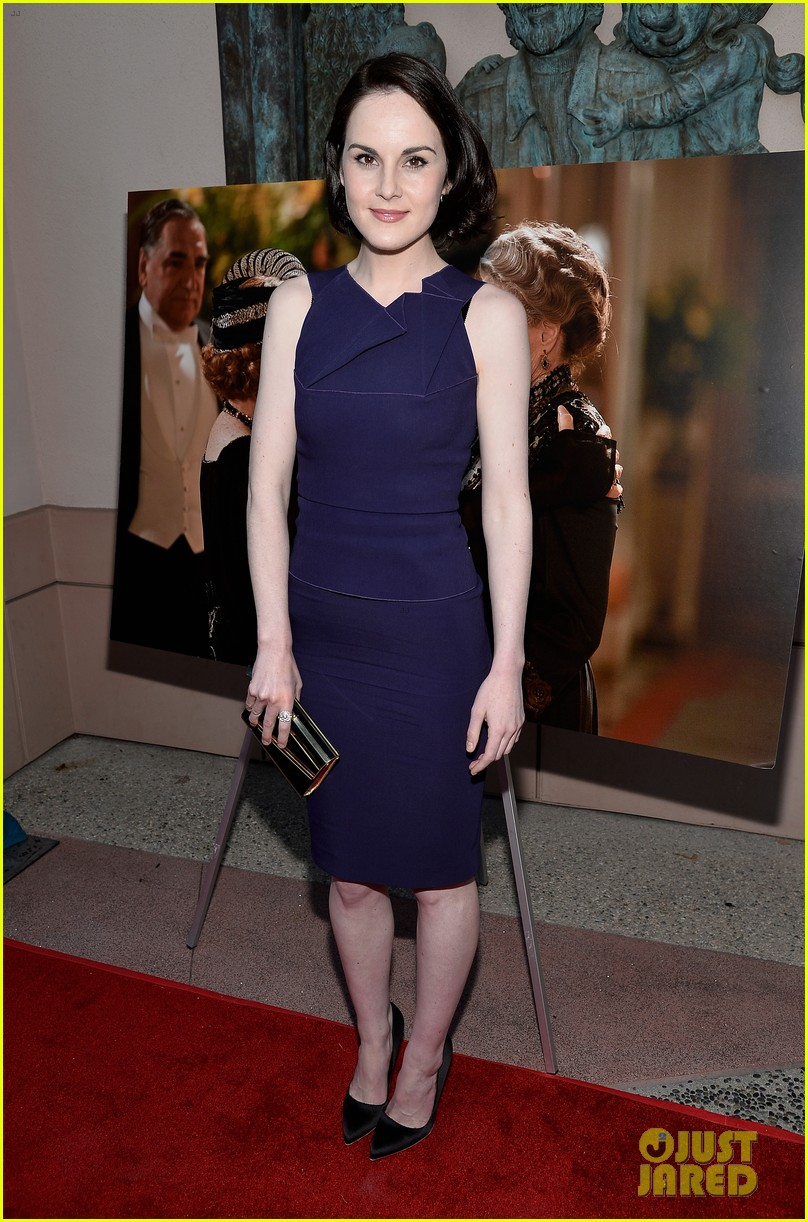 michelle dockery an evening with downton abbey cast 042888990