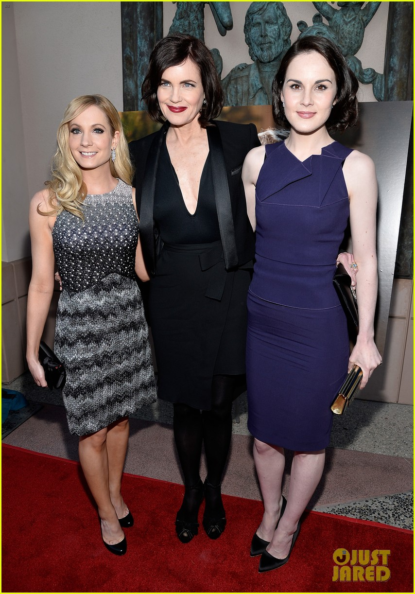 michelle dockery an evening with downton abbey cast 05