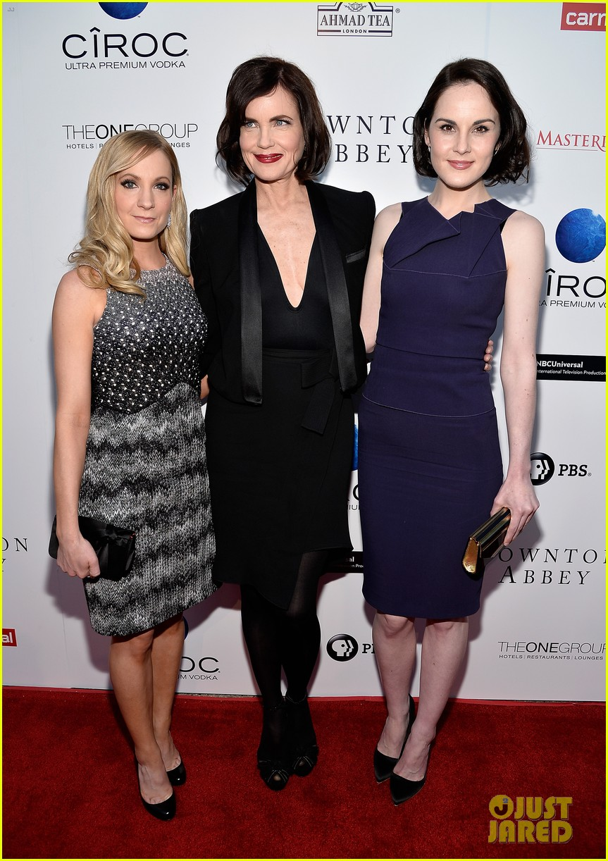 michelle dockery an evening with downton abbey cast 082888994