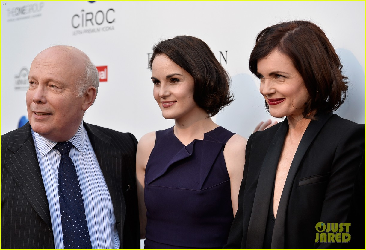 michelle dockery an evening with downton abbey cast 172889003