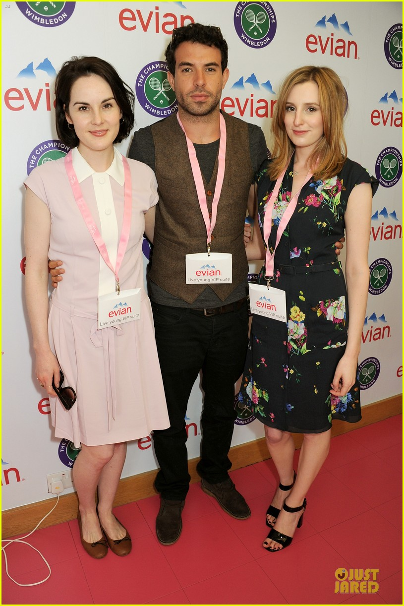 michelle dockery tom cullen evian live young suite 012898454