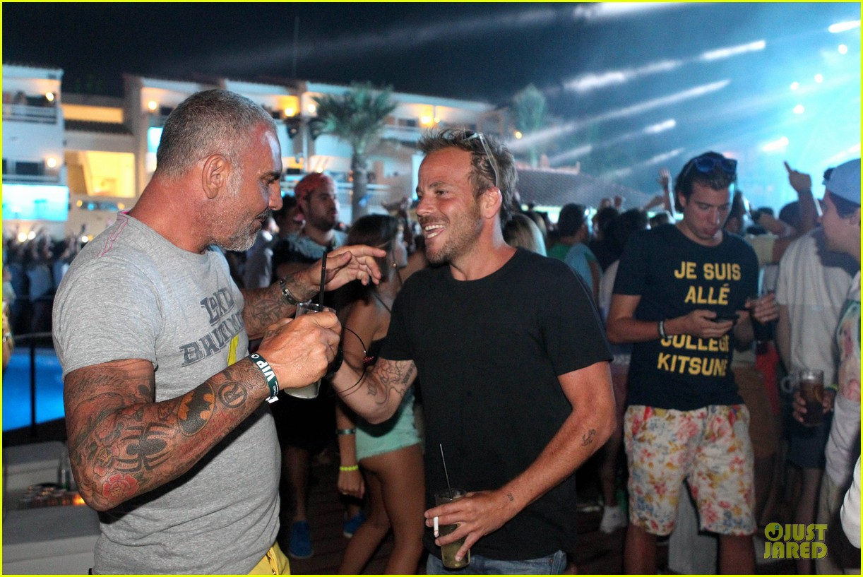 stephen dorff christian audigier departurees launch 032900644