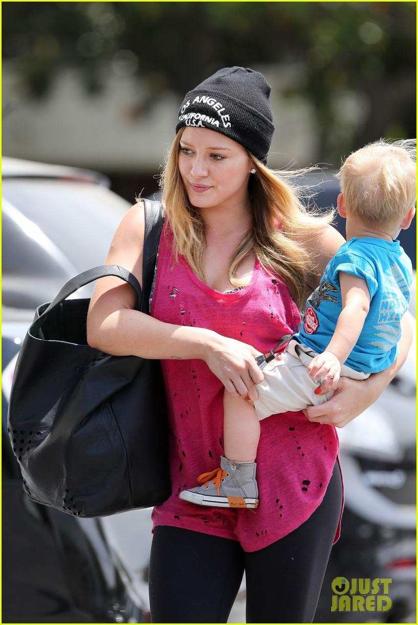 hilary duff luca is the sweetest boy i ever met 022897481
