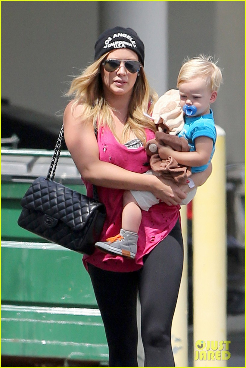hilary duff luca is the sweetest boy i ever met 08