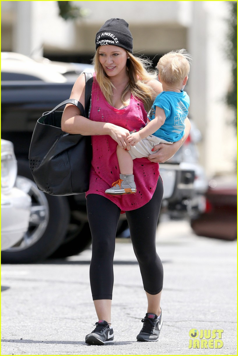 hilary duff luca is the sweetest boy i ever met 102897489