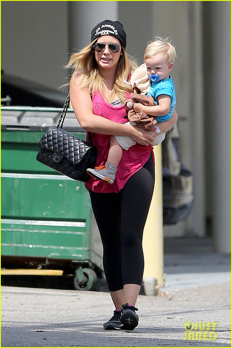 hilary duff luca is the sweetest boy i ever met 142897493