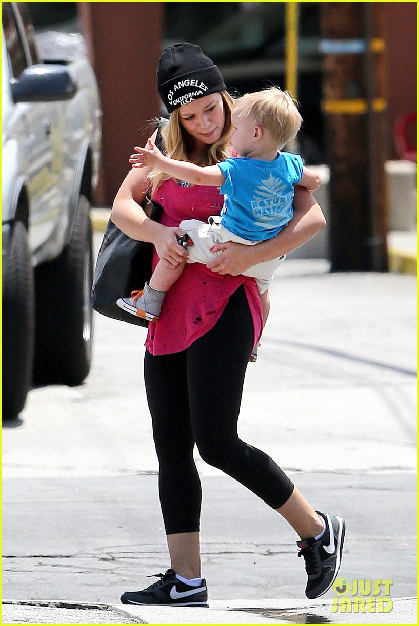hilary duff luca is the sweetest boy i ever met 222897501