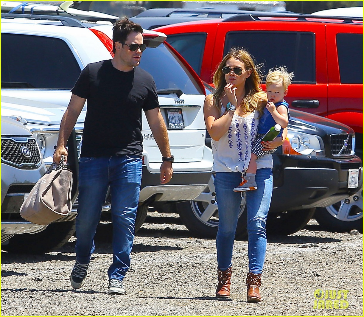 hilary duff family farm fun with sister haylie 082896816
