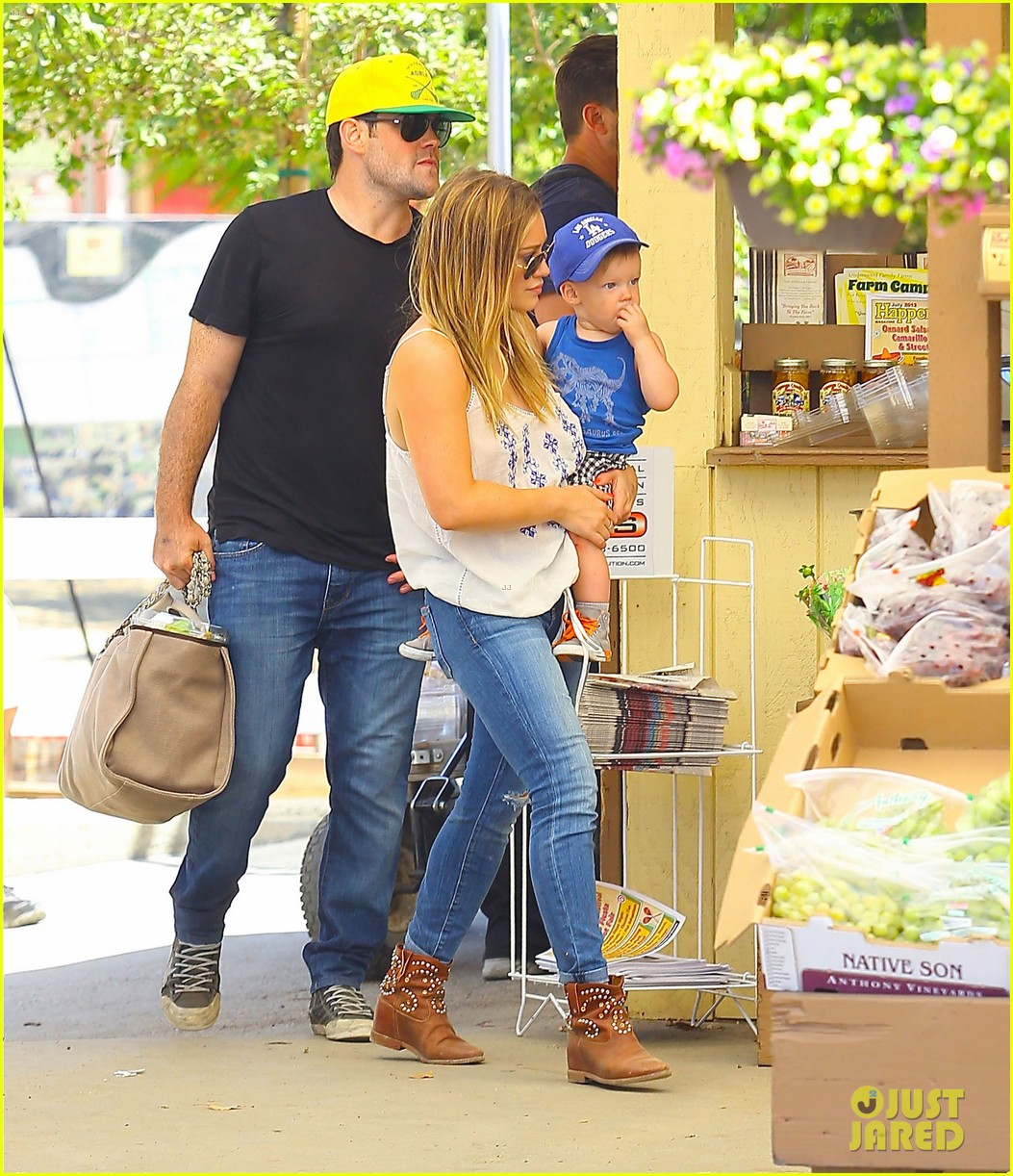 hilary duff family farm fun with sister haylie 282896836
