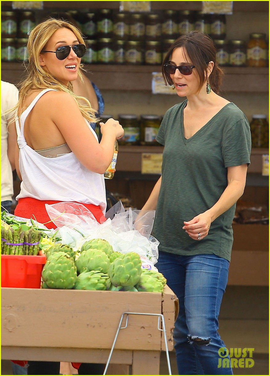 hilary duff family farm fun with sister haylie 302896838