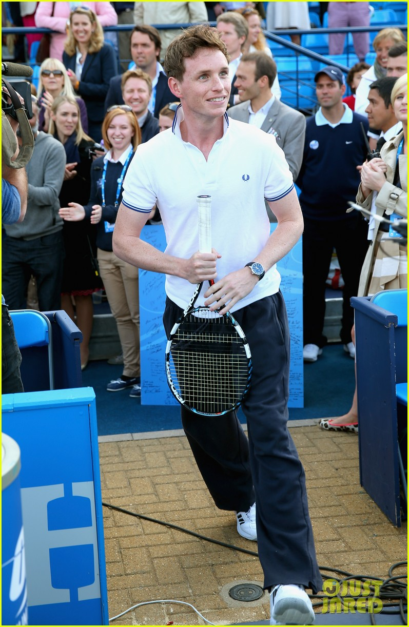 eddie redmayne rally against cancer charity tennis match 022892415