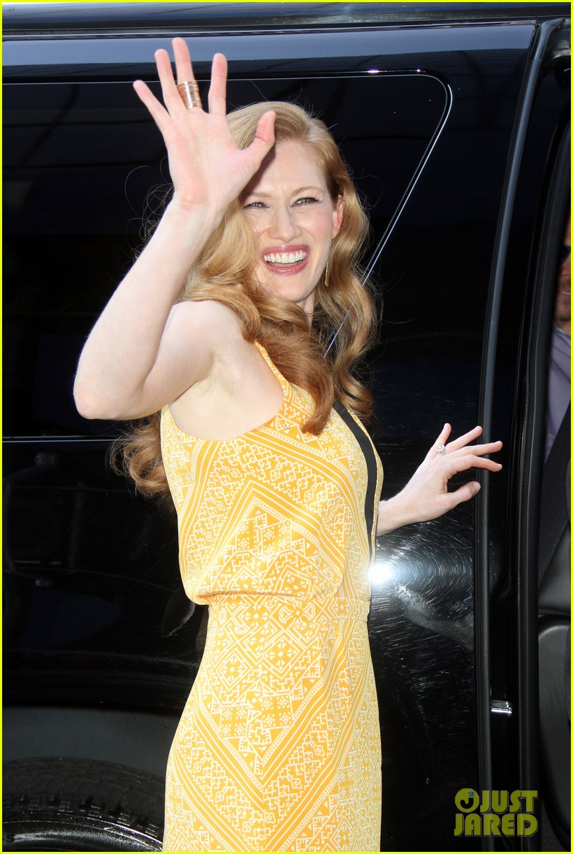 mireille enos world war z promo in new york 01
