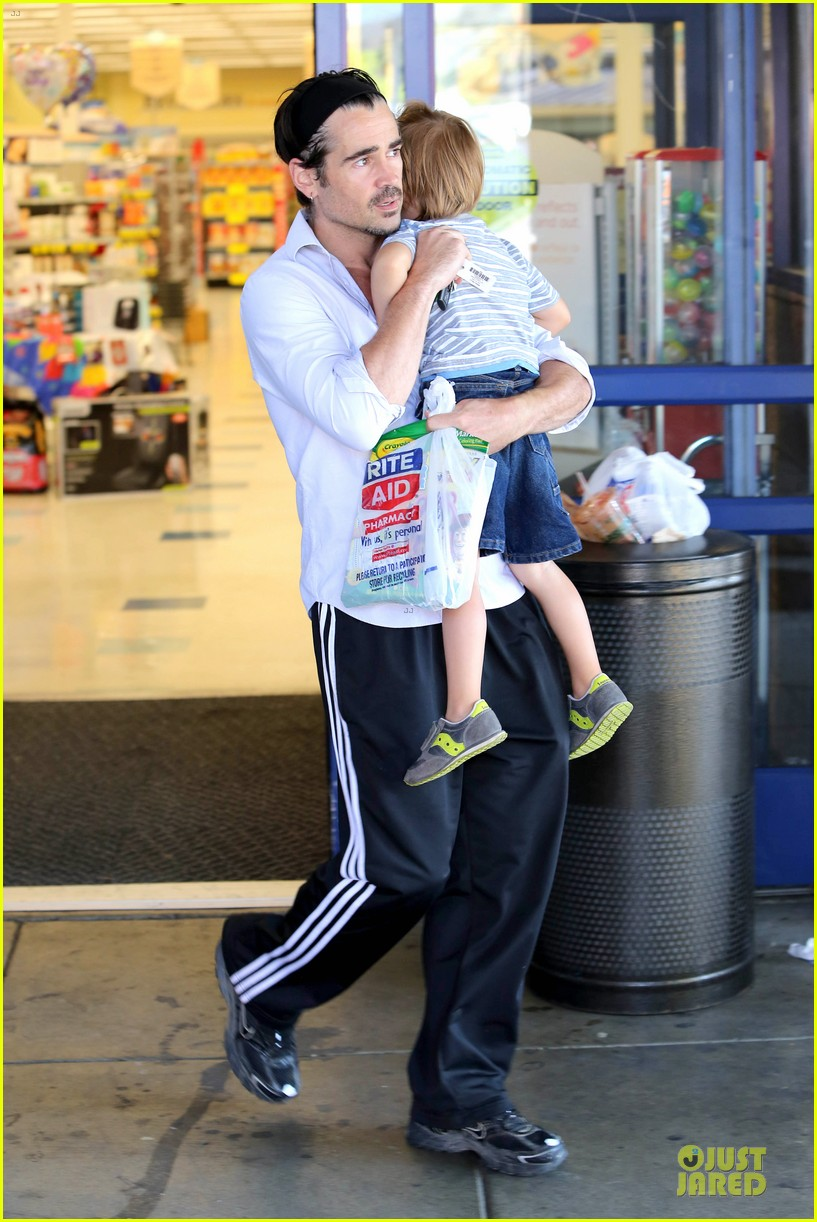 colin farrell rite aid snacks with henry 052891748