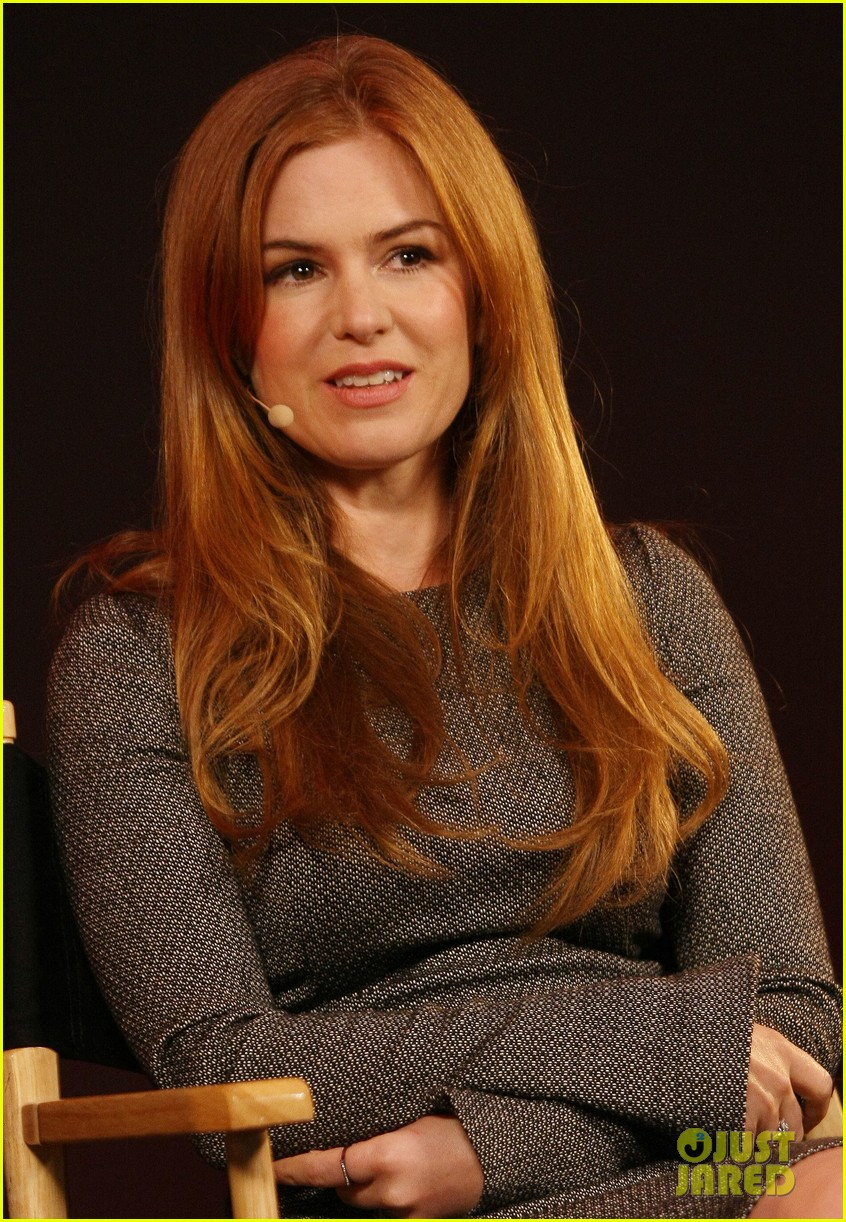 isla fisher apple store appearance in london 022894486