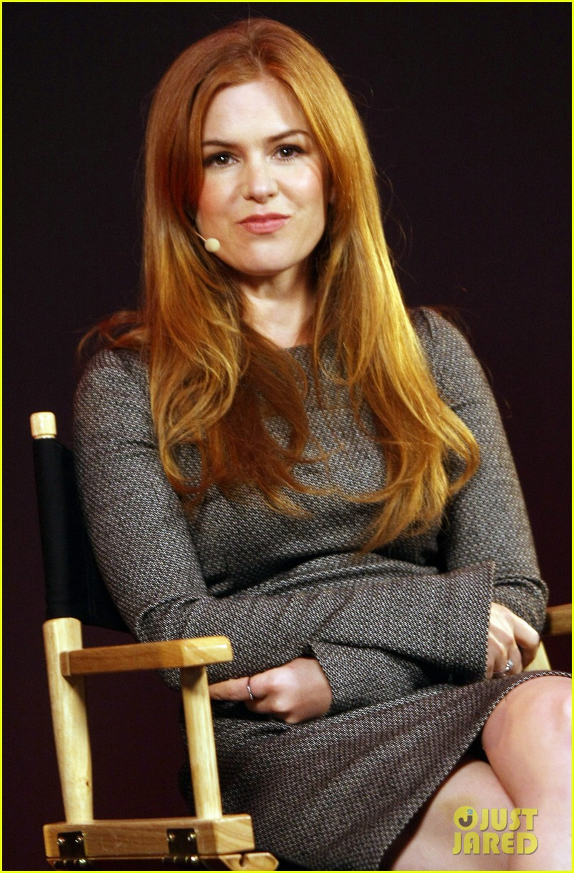 isla fisher apple store appearance in london 082894492
