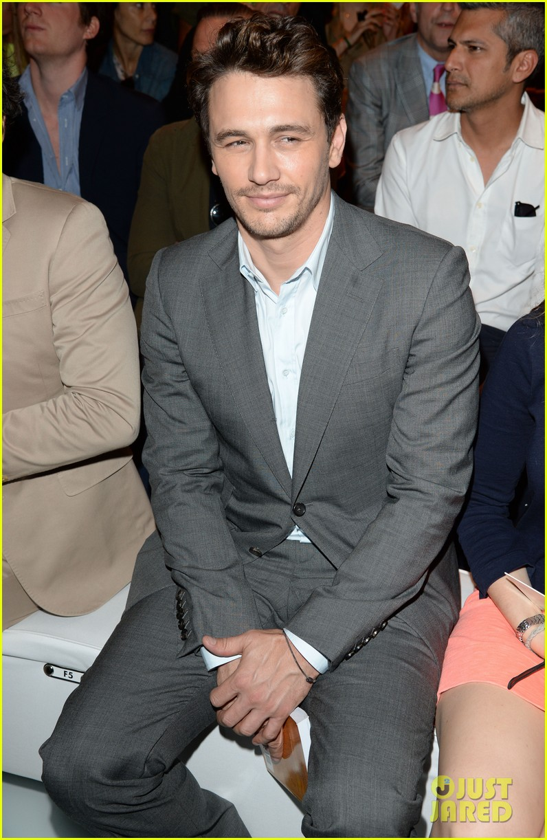 james franco gucci milan fashion show 022897726