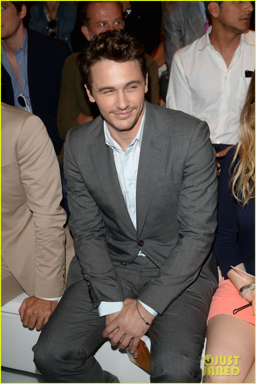 james franco gucci milan fashion show 042897728