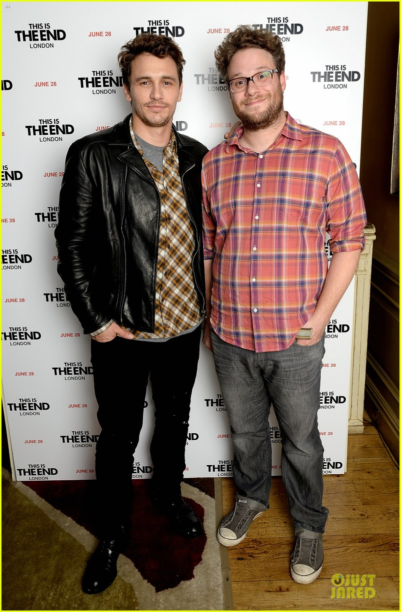 james franco seth rogen this is the end london screening 05