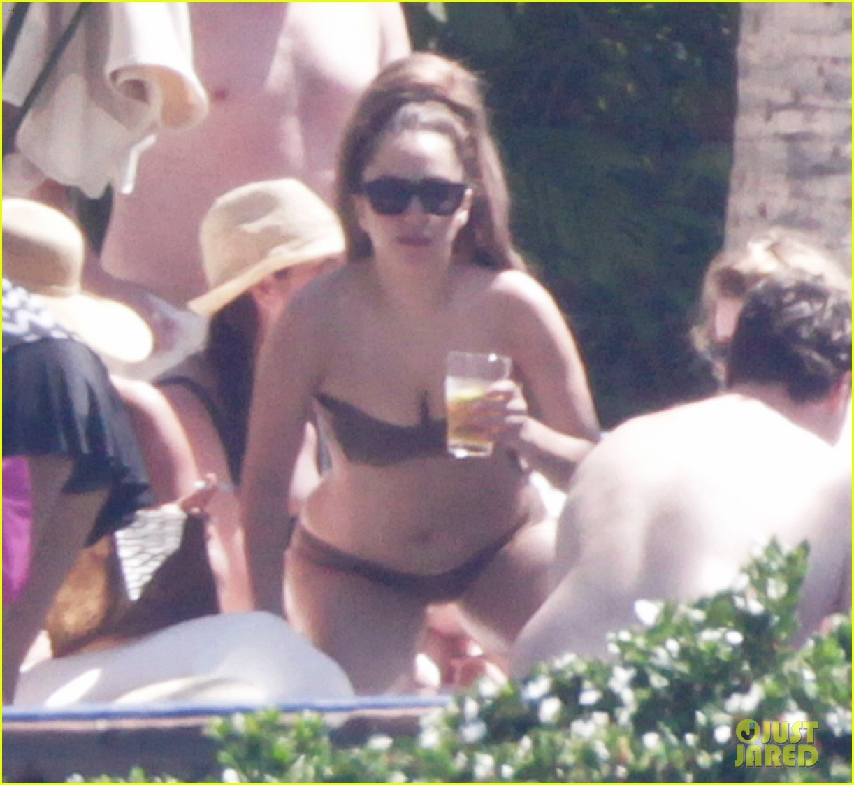 lady gaga bikini sunbathing in mexico 01