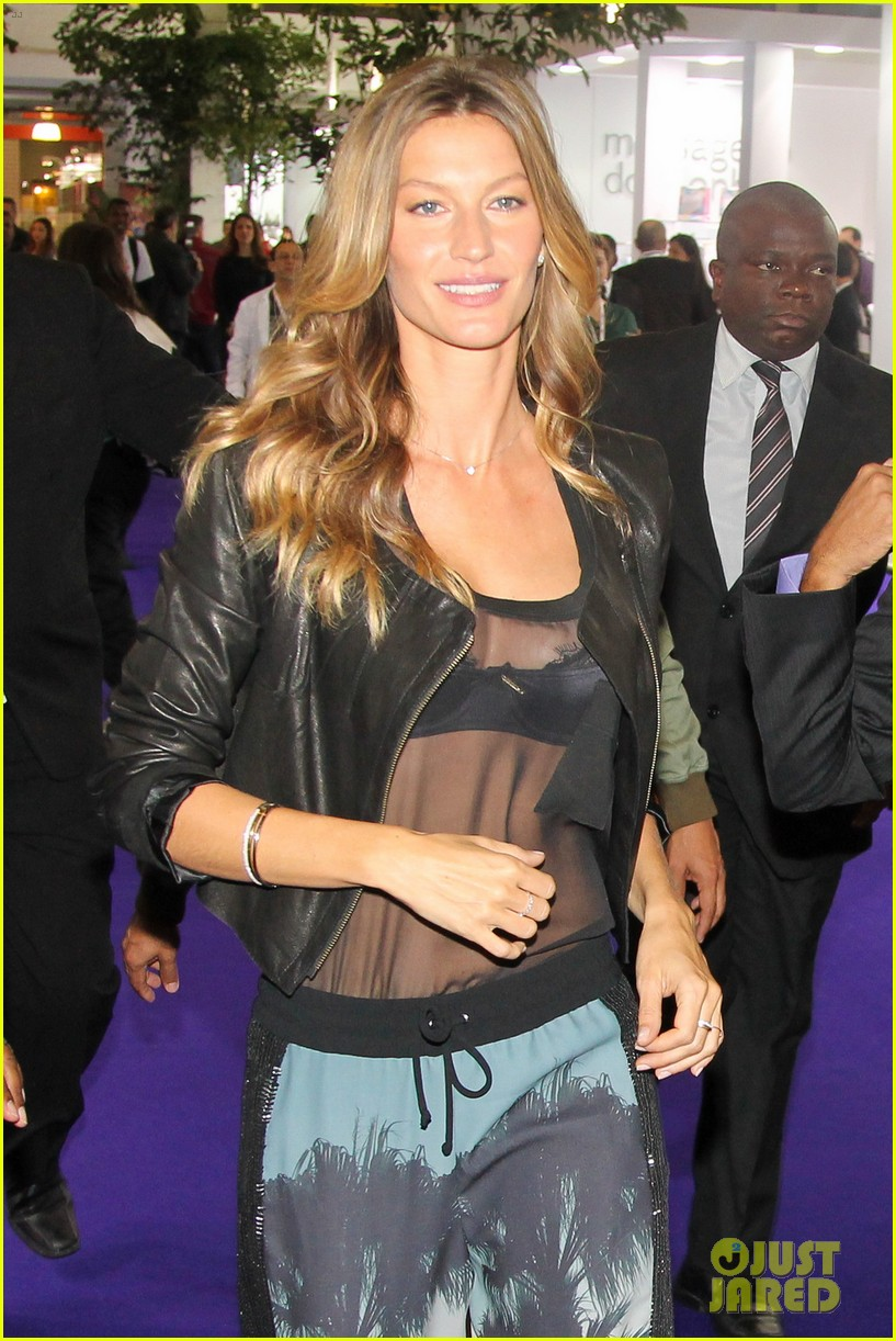 gisele bundchen launches her new lingerie line in brazil 022892461