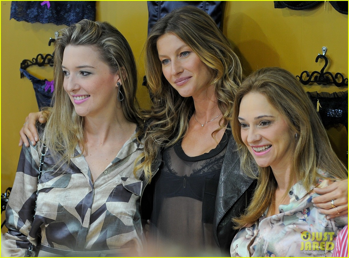 gisele bundchen launches her new lingerie line in brazil 092892468