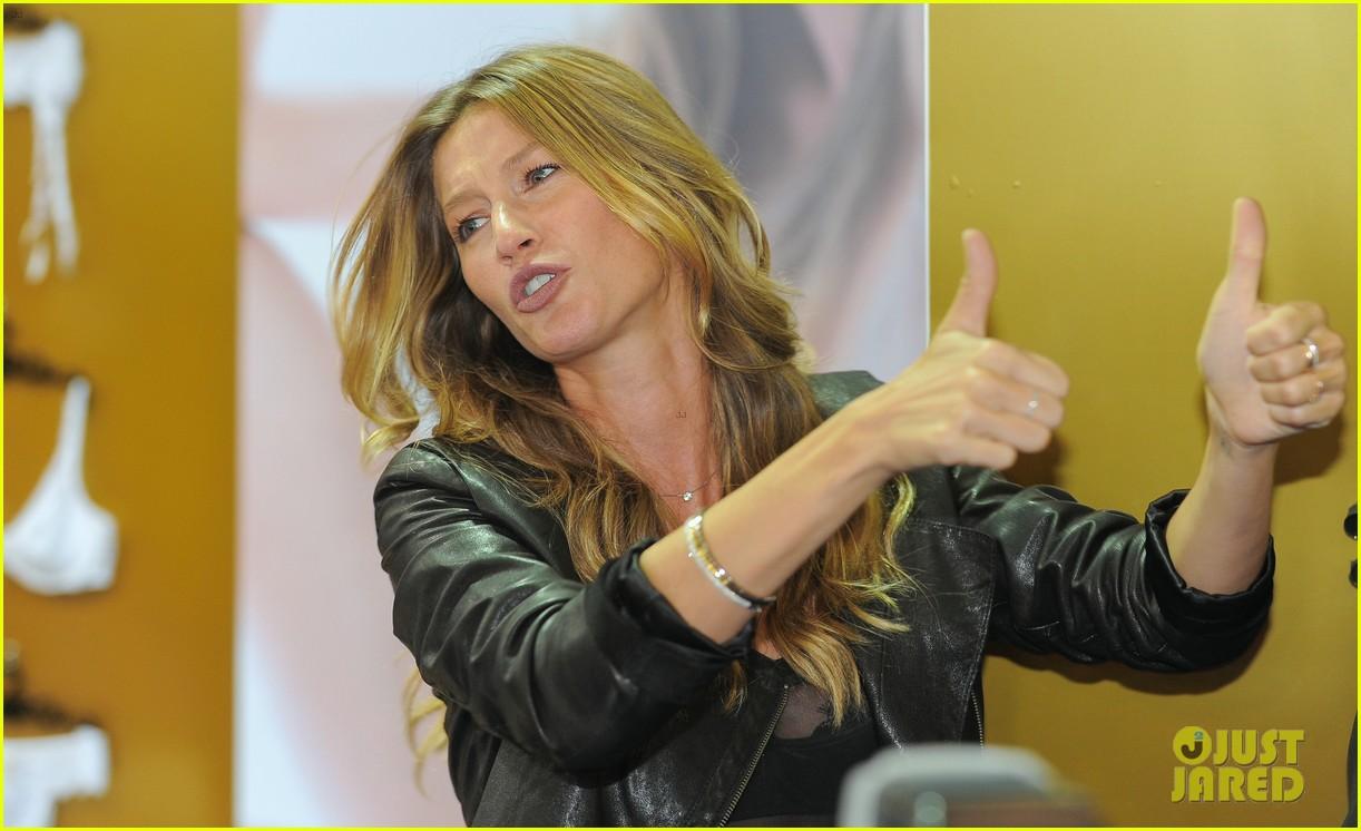 gisele bundchen launches her new lingerie line in brazil 132892472