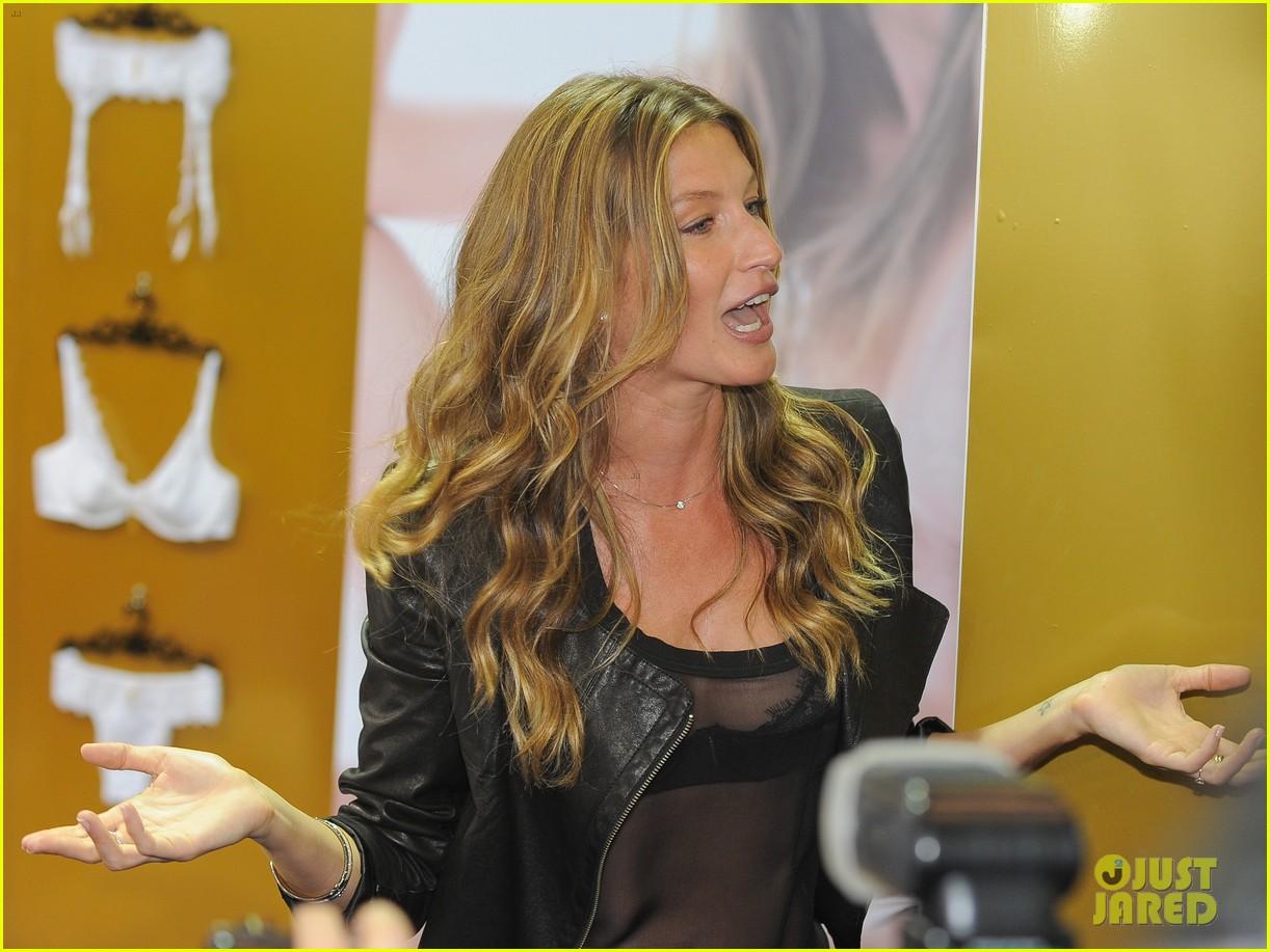 gisele bundchen launches her new lingerie line in brazil 222892481