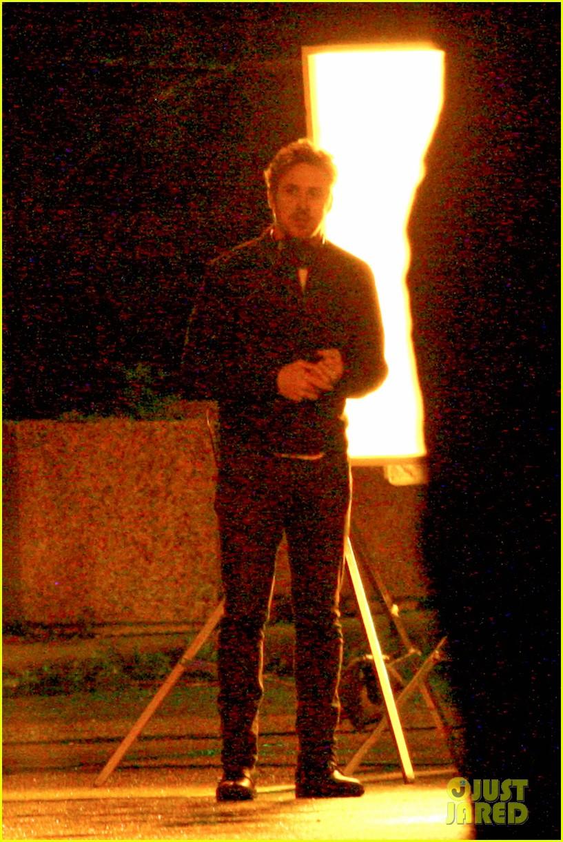 ryan gosling christina hendricks late night on monster set 012885933