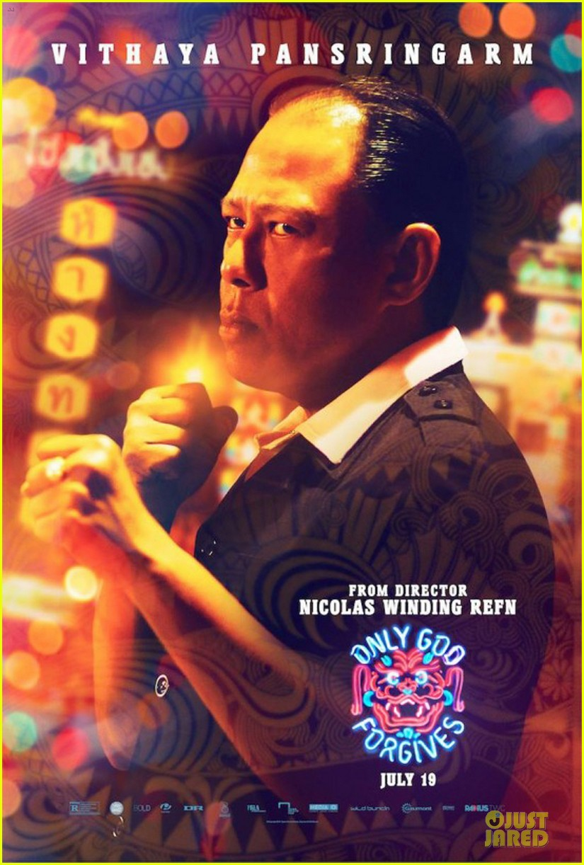 ryan gosing only god forgives character poster  012893425