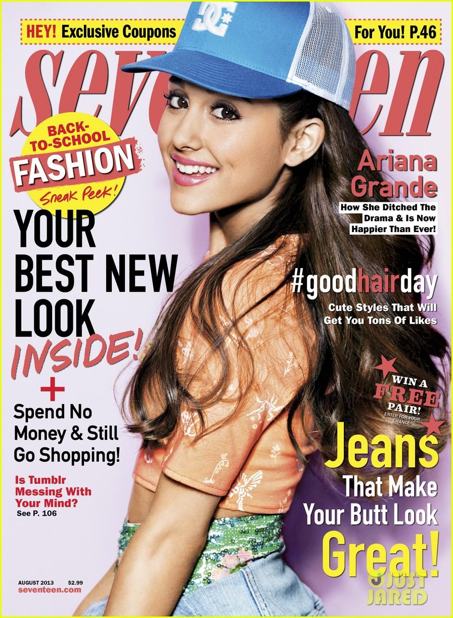 ariana grande covers seventeen august 2013 012898203