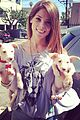 ashley greene adopts two puppies 02