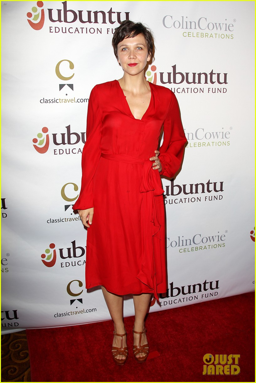 Maggie Gyllenhaal Ubuntu Education Fund New York Gala