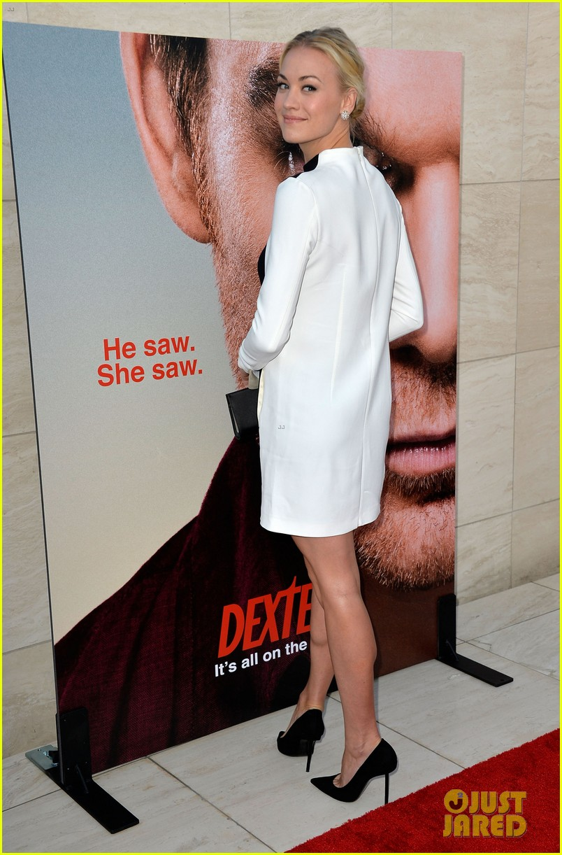 michael c hall jennifer carpenter dexter premiere 132892109