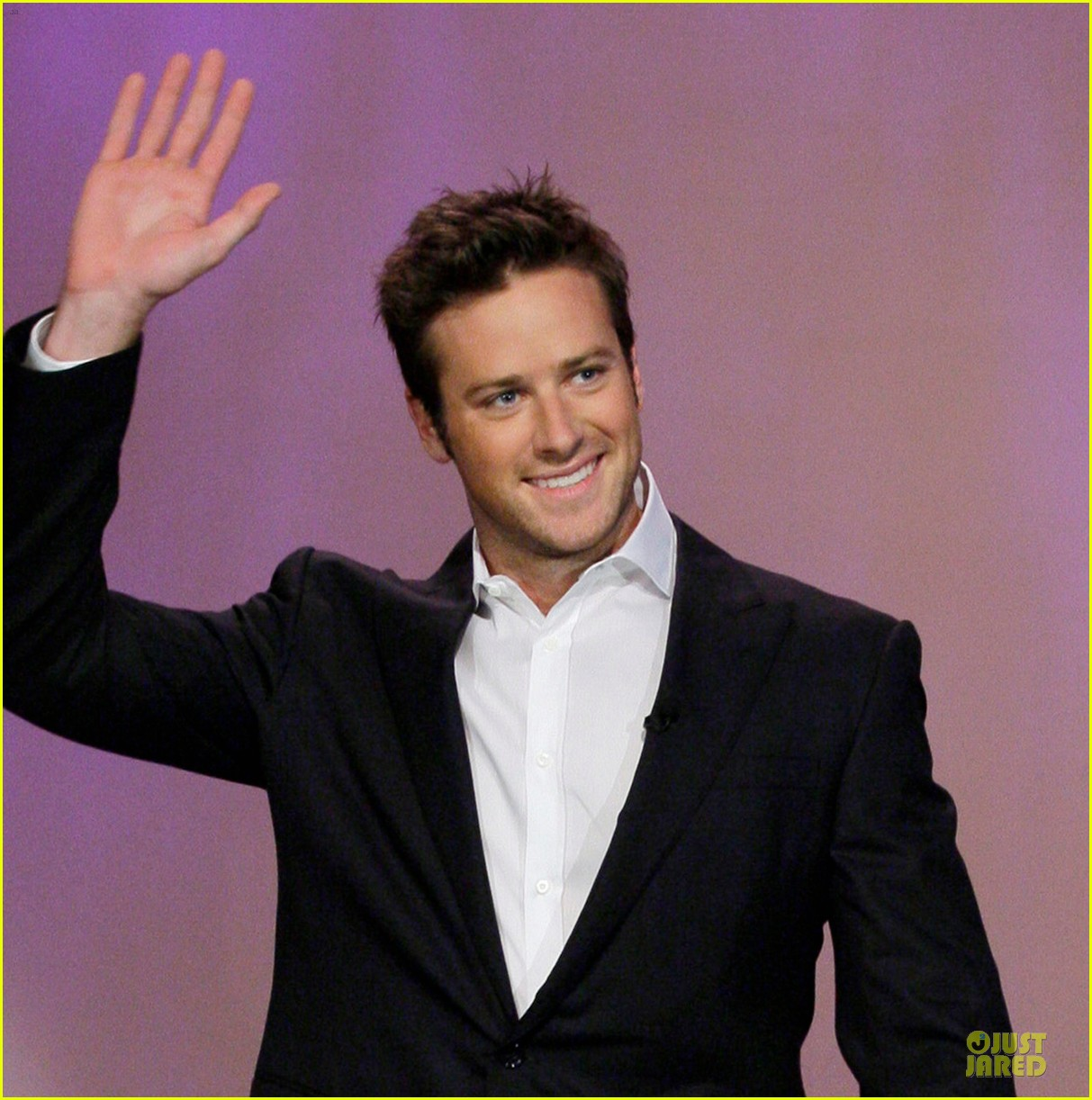armie hammer motorcycle rider after leno appearance 022891582