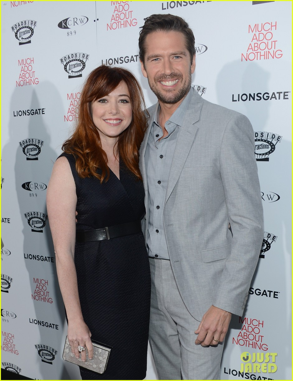 alyson hannigan nathan fillion much ado about nothing premiere 022885490