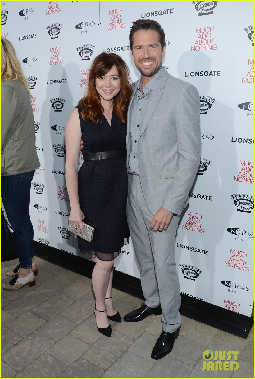 alyson hannigan nathan fillion much ado about nothing premiere 132885501