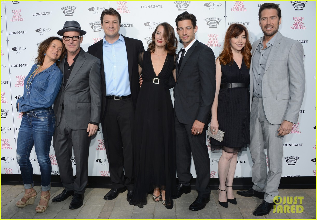 alyson hannigan nathan fillion much ado about nothing premiere 202885508
