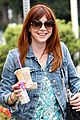 alyson hannigan grabs coffee alexis denisof covers bello 02